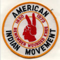 American Indian Movement Patch