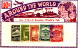 Ecuador World's Fair Stamp Packet