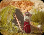Havasupai woman and child