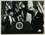 President Reagan Rallies for Schmitt