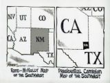 Presidential Campaign Map Shows New Borders For Southwest