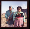 Mr. and Mrs. Phillip Cheromiah, Mesita Village, Laguna Pueblo, NM