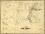 Sketch of Public Surveys in New Mexico to accompany the annual report of the Surveyor General for...