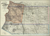 Sectional Map of Colfax and Mora Counties