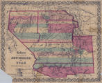 Territories of New Mexico and Utah, 1855