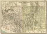 Map of Arizona and New Mexico, 1897