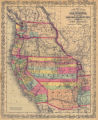 A New Map of the State of California, the Territories of Oregon, Washington, Utah, and New Mexico