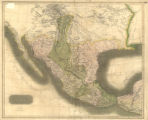 Map of Spanish North America
