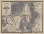 1876Map Showing the Lines of Communication between Southern Colorado and Northern New Mexico