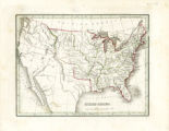 Map of United States, 1835