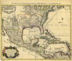 Tabula Geographica Mexicae et Floridae