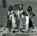 [Taos Pueblo Beauty Queen and Princesses]