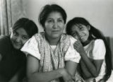 Mildred Whyte, Southern Ute, and her daughters