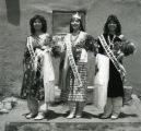 Taos Pueblo beauty queens, 1986