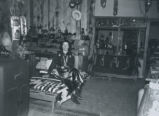 Louise Brock in Brock's Bluewater Trading Post