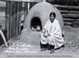 E.C. Archleta of Taos Pueblo and Pots