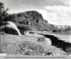 Stone Ranch Bluffs, N.M. ca. 1890