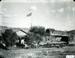 "Lake Valley 4th of July, 1897. ""Our House"""