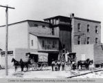 Southwestern Brewery and Ice Company, located at 601 Commercial St, Albuquerque, NM, ca 1890