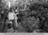 Castetter Hall - interior - group in greenhouse