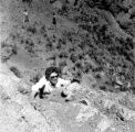 Peace Corps - Outward Bound training - woman climbing mountain