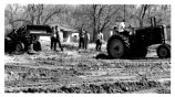 Peace Corps - construction training - backhoe and tractor