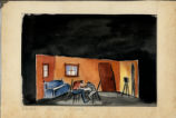 Liliom - set design - studio scene