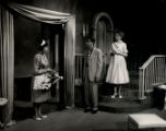 Such Sweet Sorrow - scene from play - maid with flowers