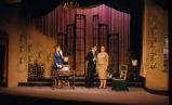 The Apollo of Bellac - scene from play - woman in brown