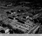 College of Education Complex - aerial view with parking lot