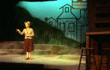 Under Milk Wood - scene from play - woman standing