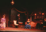 The Little Foxes - scene from play - Birdie, Oscar, Alexandra, and Benjamin