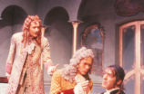 Tartuffe - scene from play - Damis, Orgon, and Tartuffe