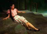 Under Milk Wood - scene from play - woman reclining