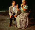 Under Milk Wood - scene from play - man and woman seated