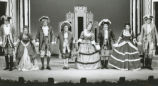 She Stoops to Conquer - curtain call of play