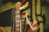Amahl and the Night Visitors - scene from opera - One of Three Kings and Amahl