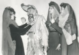The Magic Flute - scene from opera - Papageno and Three Ladies