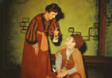 Amahl and the Night Visitors - scene from opera - Amahl with Mother