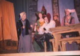 Gianni Schicchi - scene from opera - title character getting in disguise
