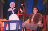 Hansel and Gretel - scene from opera - Mother and Father at table