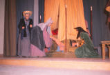 Gianni Schicchi - scene from opera - women and bed