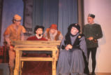 Gianni Schicchi - scene from play - men and desk