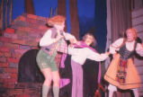 Hansel and Gretel - scene from opera - Witch grabbing children