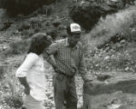 Harding Pegmatite mine - Gilbert Griego and woman
