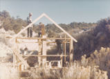 Harding Pegmatite mine - construction - framing