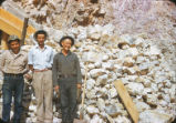 Harding Pegmatite mine - Eliseo and Flaudio Griego and Juan Romero