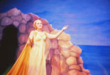 Ariadne on Naxos - scene from opera - Ariadne in front of cave