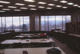 Bratton II - Law School - interior - Law Library study area and stacks