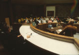 Bratton II - Law School - interior - mock court in model courtroom